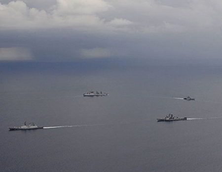Joint Exercises Between the Indian and Us Navies