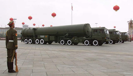 China Missile Launchers