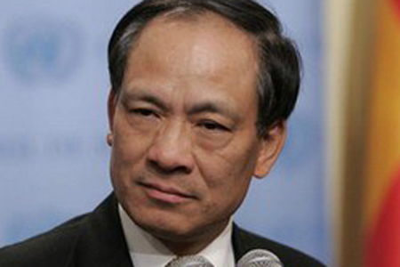 Newly inaugurated Asean Secretary-General Le Luong Minh of Vietnam