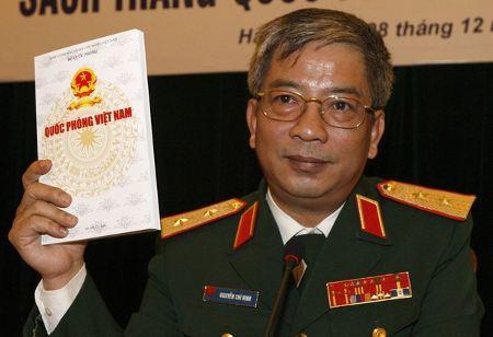 Vietnam's Deputy Minister of Defence Lieutenant General Nguyen Chi Vinh