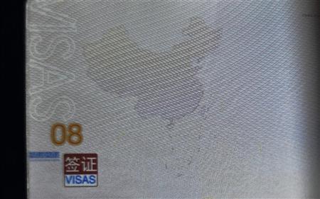 China Visa Map
