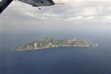 Senkaku Islands from the air