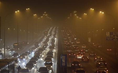 Beijing Traffic Pollution China