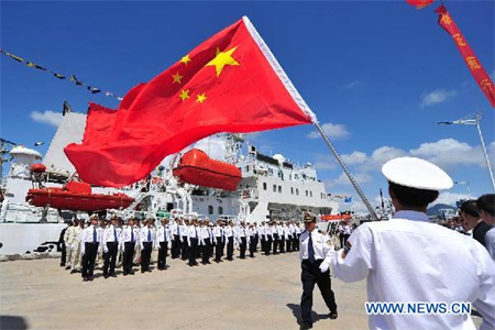 China Rejects Law Of The Sea