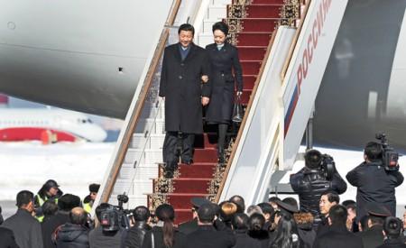 Chinese President Xi Jinping and his wife Peng Liyuan.