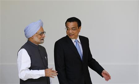 Manmohan Singh and Li Keqiang