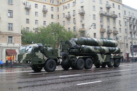 Russian S-400 missiles