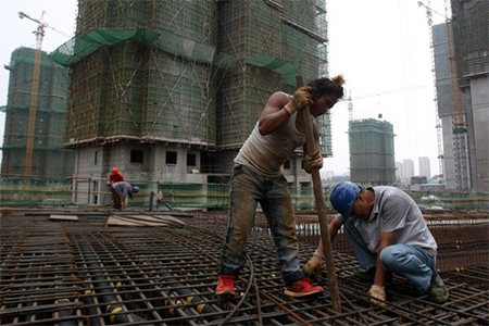 China says it hopes to reduce reliance on investment in construction