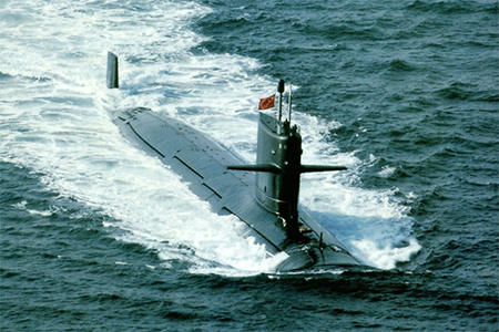 Photo of China's new generation of nuclear submarine circulated on the Internet