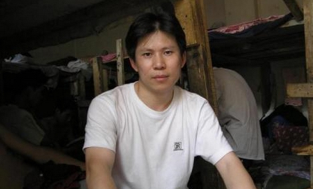 Xu Zhiyong, a well-known legal activist detained for campaigning for officials to reveal their wealth