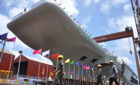 India launches first indigenous aircraft carrier INS Vikrant