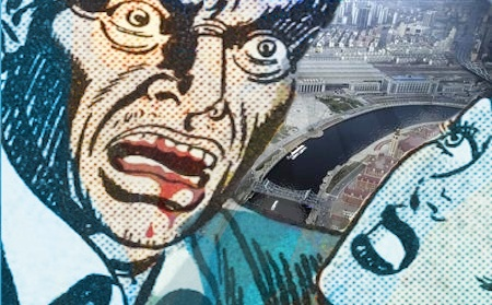 "Will profit-starved  ""zombie borrowers"" threaten China's economic future? - Illustration by Michael Scott"