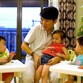 """Jiang, a Shanghai businessman and his wife welcomed a daughter, born in California to an American surrogate he calls """"my Amanda"""". The same surrogate later carried twins for the couple. Photo: REUTERS"""