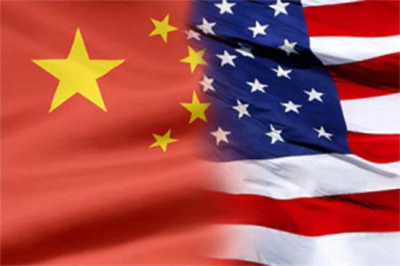 China USA Flag