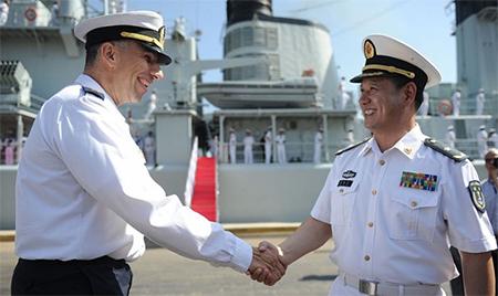 The Israeli and Chinese Navies