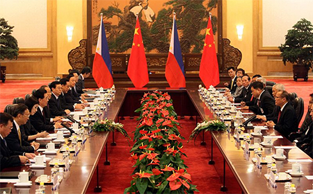 Summit between The Philippines and China