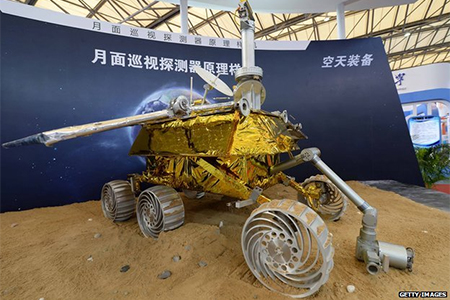 Chang'e 3 model: Not since the Soviets' Luna 24 mission has there been a soft landing