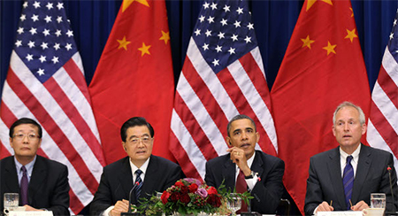 US and Chinese Leaders