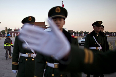 China's military hasn't really dominated since the 1400s