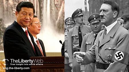 Xi Jinping and Adolf Hitler