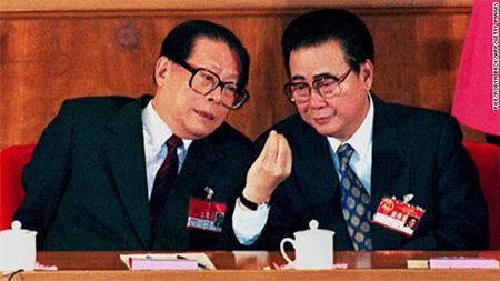 Jiang Zemin & Li Peng