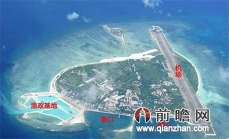 Planned artificial island in South China Sea