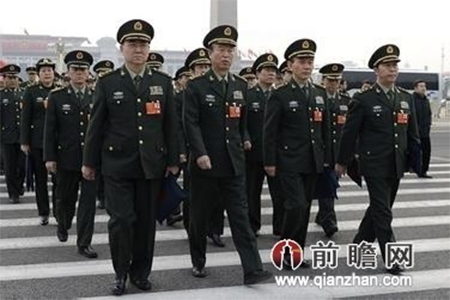 PLA officers going to attend NPC meeting