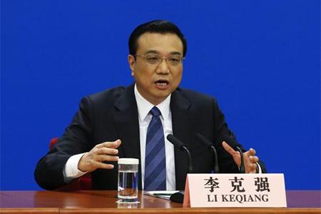 China's Premier Li Keqiang