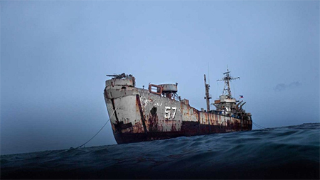 Philippines warship grounded at Renai Reef