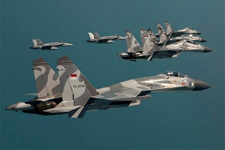 Indonesian Su-30s
