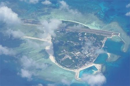 China's Woody Island where Sansha city government is located