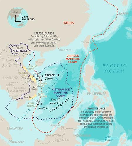 China and Vietnam Claims