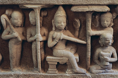 This bas-relief sculpture is one of many in the temple city of My Son, a UNESCO World Heritage site in Vietnam