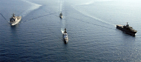Chinese ships in South China Sea