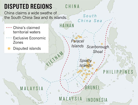 China's Nine Dashed Line