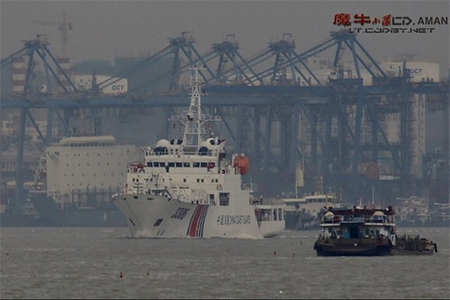 Chinese coast guard ship with 3,000-ton displacement