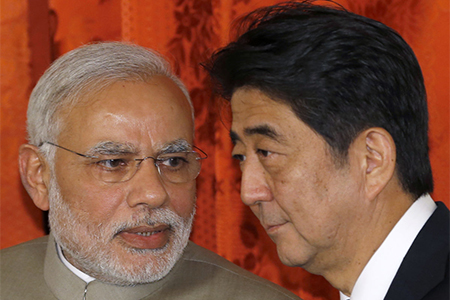 Narendra Modi amd Shinzo Abe