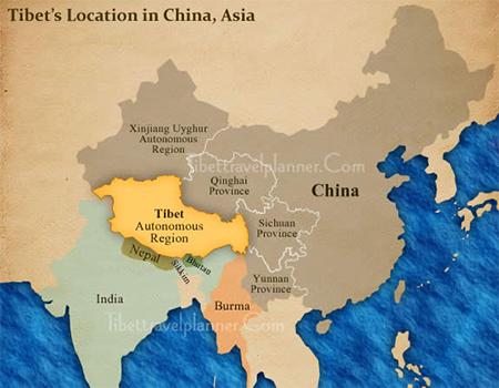 Tibet Map