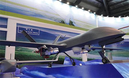 China's Rainbow Drone