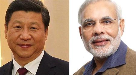 Xi Jinping & Narendra Modi