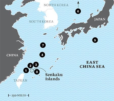 Rising Tensions: Japan and China