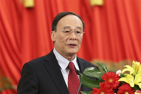 China's top graft-buster Wang Qishan