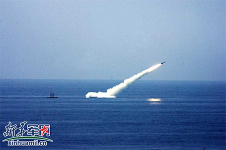 China test launch of SLBM