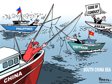 China Provokes Neighbours