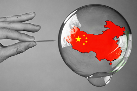 China's bubble is about to burst