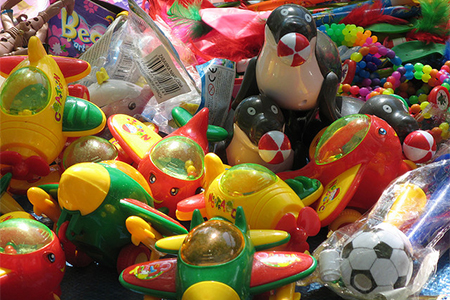 Toys were at the top of the list of unsafe products coming out of China