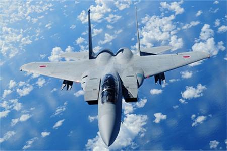 A Japan Air Self Defense Force F-15 (F-15DJ) in flight