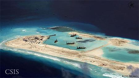 China Artificial Island