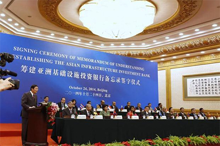 China launches World Bank in Asia