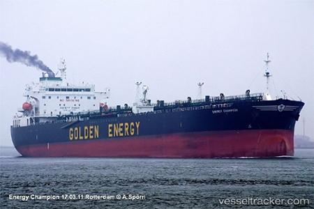 The tanker Energy Champion